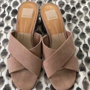Dolce Vita like new slip on sandals